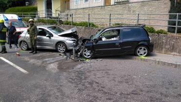 Verkehrsunfall Bundesstraße