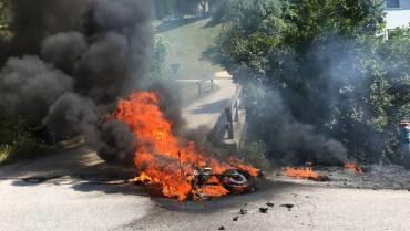 09.08.2018, Fahrzeugbrand