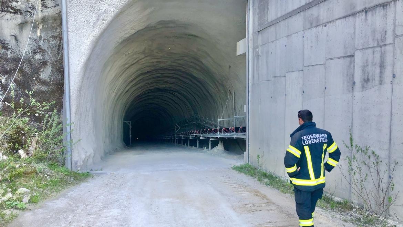 10.Mai 2021 Besichtigung Bernegger Tunnel Molln